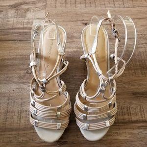 Antonio MelaniOpenToe Espadrille Sandal Size 7 .5